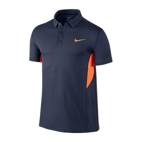 Pánské tenisové tričko Nike Court Sphere polo modré - Tenissport ...