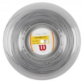 Tenisový výplet Wilson Poly Pro 1.25 200m silber