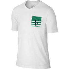 Pánské tenisové tričko Nike Roger Federer white