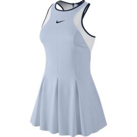 Tenisové šaty Nike Maria Premier Porpoise/white/obsidian
