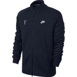 Pánská tenisová mikina Nike PREMIER RF Obsidian/white