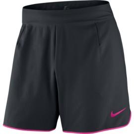Pánské tenisové šortky Nike Gladiator Premier BLACK/HYPER PINK/HYPER PINK