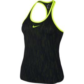 Dámské tenisové tílko Nike Dry  Premier Slam BLACK/VOLT