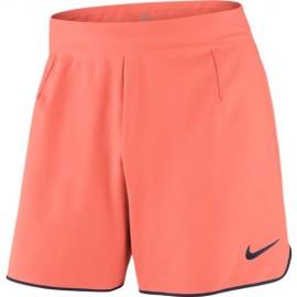 Pánské tenisové šortky Nike Flex Gladiator BRIGHT MANGO/PURPLE DYNASTY