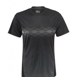 Pánské tenisové tričko Wilson UW Statement Crew black