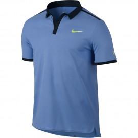 Pánské tenisové tričko Nike RF Advantage Premier Polo POLAR/BLACK/GHOST GREEN