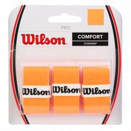 Tenisová omotávka Wilson Burn Orange  3 kusy