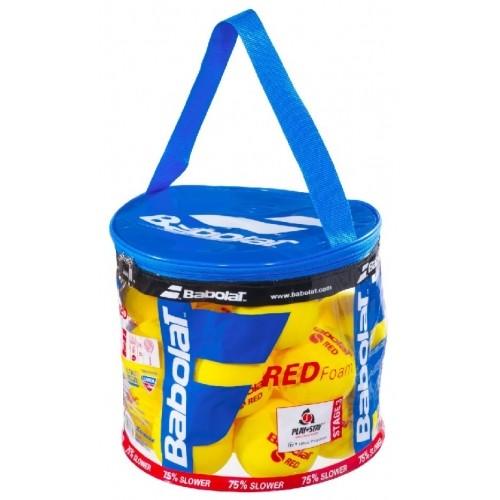 Pěnový tenisový míč Babolat Red Foam / 24 ks