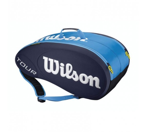 Tenisová taška Wilson Tour Molded 9 bag blue