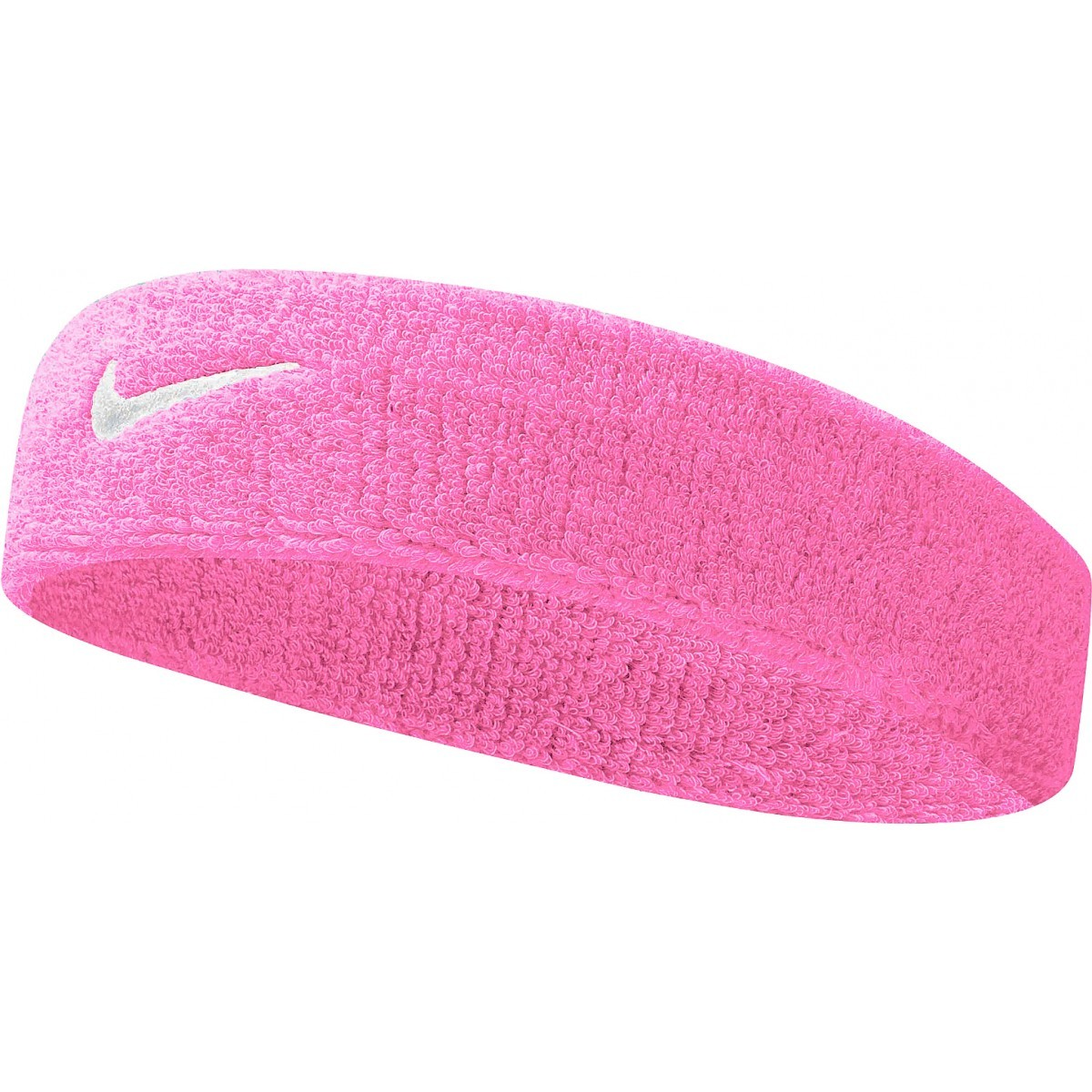 čelenka NIKE Swoosh Headband pink/white