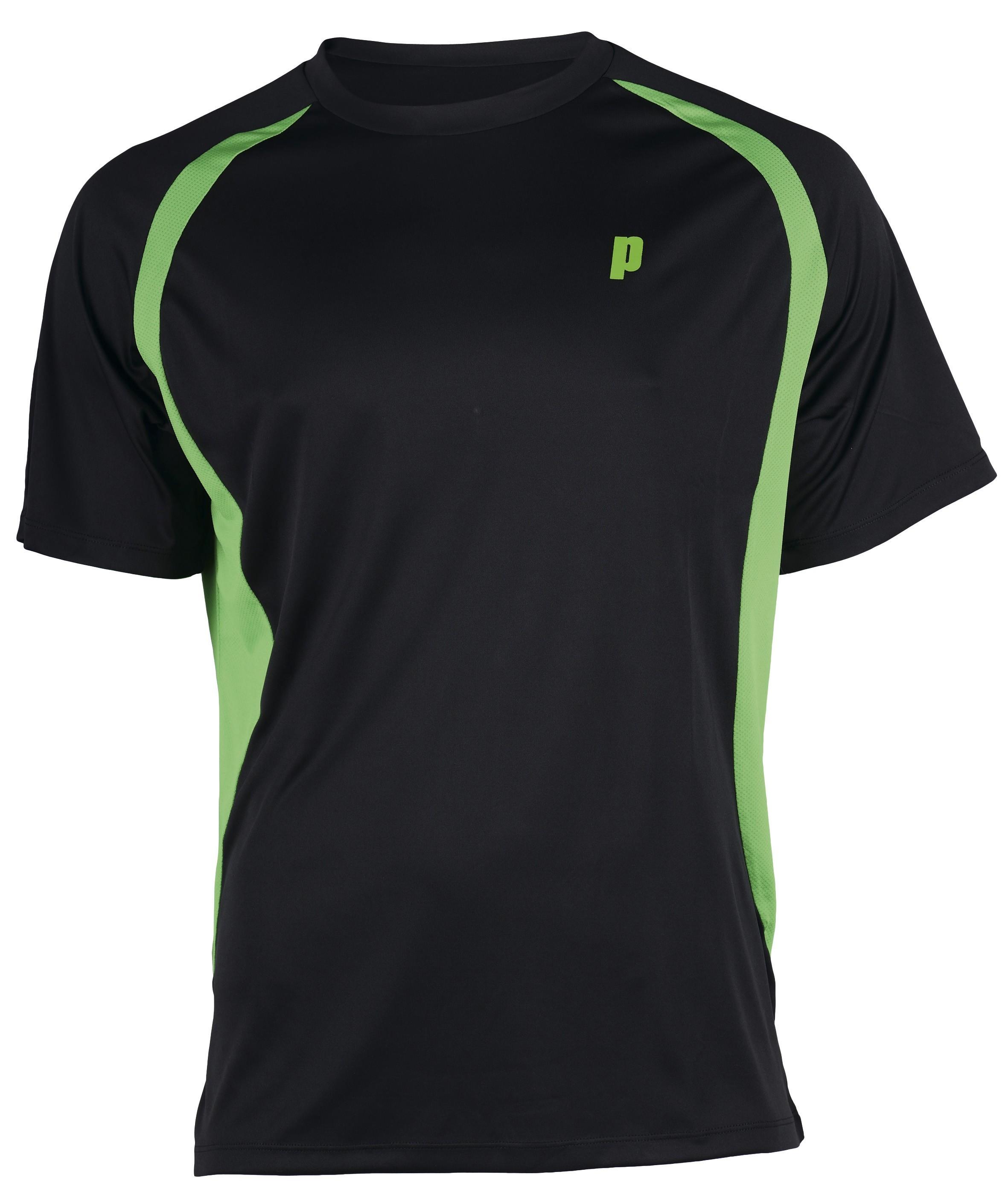 Pánské tenisové tričko Prince Crew black L