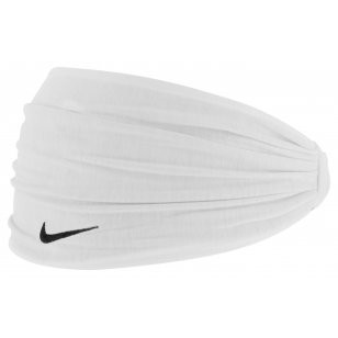 Vlasová čelenka Nike Hairband white/black