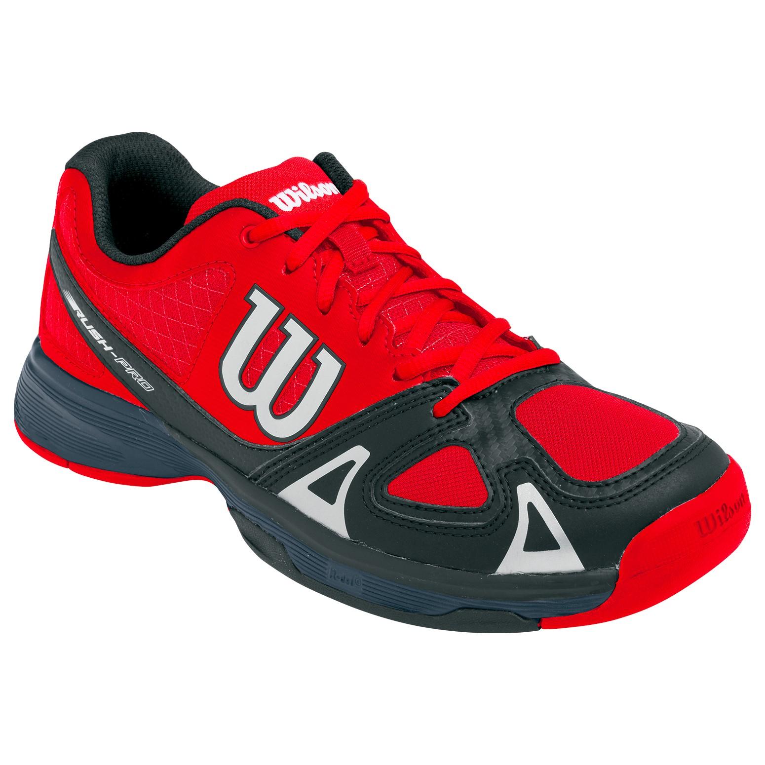 Tenisová obuv Wilson Rush Pro Junior redUK 5,5 / EUR 39 / 25 cm