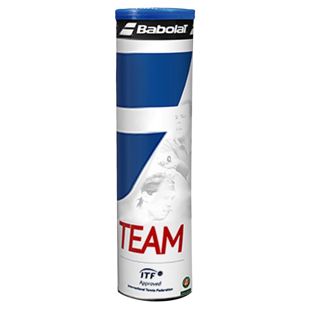 Tenisové míče Babolat Team / 4 kusy