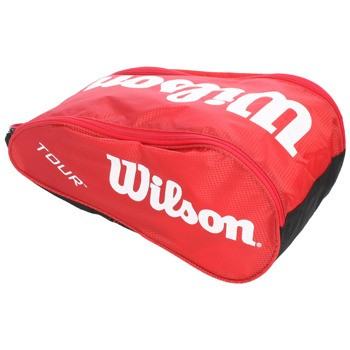 Vak na obuv Wilson Tour Shoe bag III red