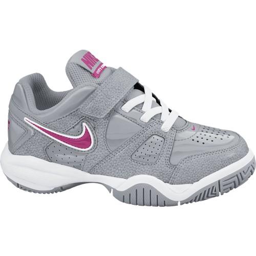 Dětská tenisová obuv Nike City Court VII grey /pinkUK 11.5 / EUR 29.5 / 18 cm