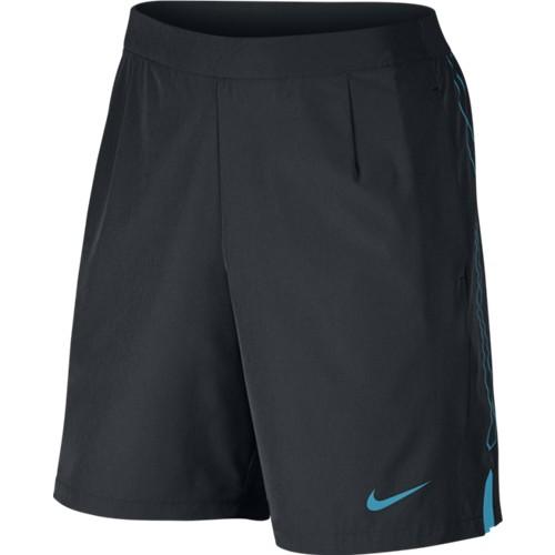 Pánské tenisové šortky Nike Gladiator 9´short black/ lt blueS