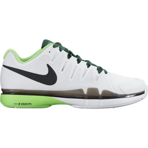 Pánská tenisová obuv Nike Zoom Vapor 9.5 Tour white/greenUK 10 / EUR 45 / 29 cm