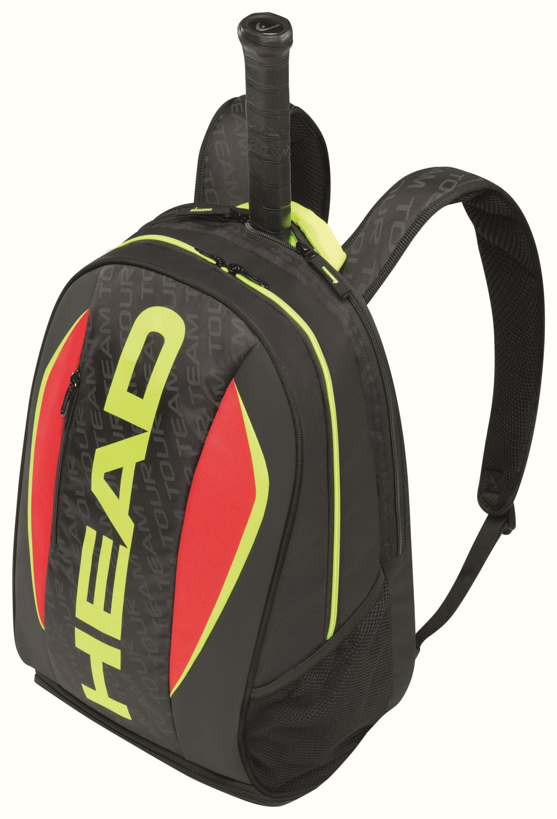Tenisový batoh HEAD Extreme black/lime/red new