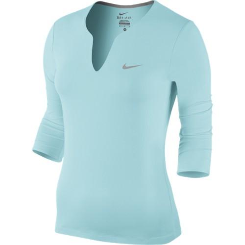 Dámské tenisové tričko Nike Pure LS copaXS