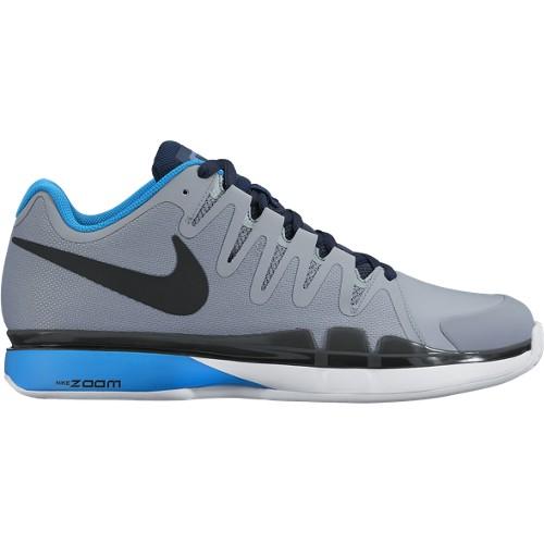 Pánská tenisová obuv Nike Zoom Vapor 9.5 Tour Clay stealth/black-hrtg cyan-obsdnUK 6 / EUR 39 / 24.5 cm