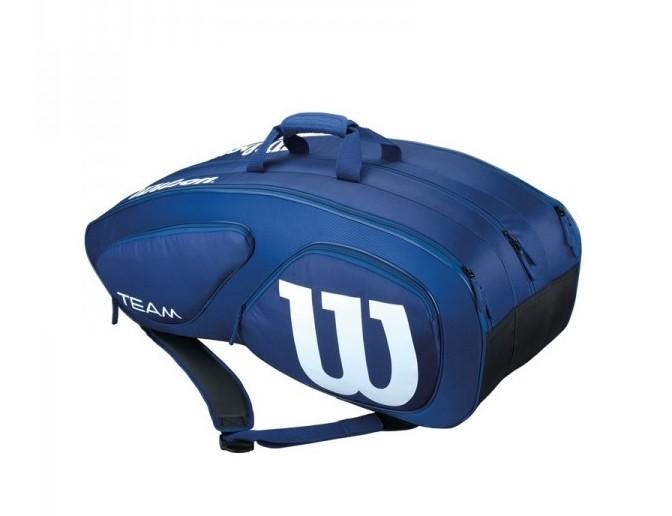 Tenisová taška Wilson Team II 12 PK Navy