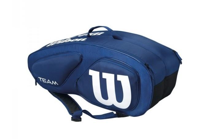 Tenisová taška Wilson Team II 9 PK Navy