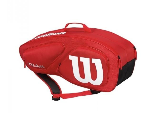 Tenisová taška Wilson Team II 9 PK Red