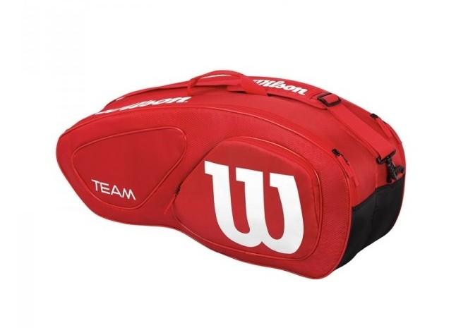 Tenisová taška Wilson Team II 6 PK Red