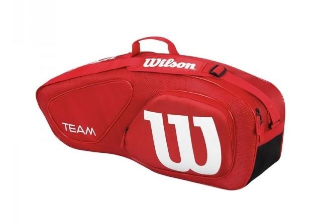 Tenisová taška Wilson Team II 3 PK Red