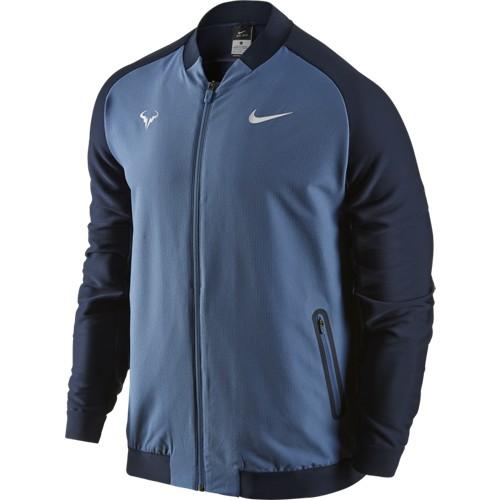 Pánská tenisová bunda Nike Rafa Ocean fog/ObsidianM
