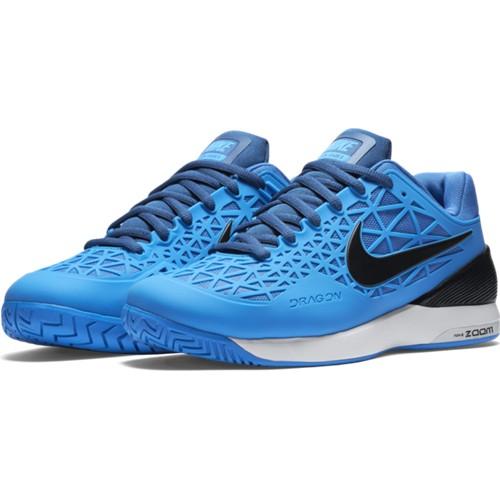 Pánská tenisová obuv Nike Zoom Cage 2 PHOTO BLUE/BLACK-WHITE-FNTN BLUK 9 / EUR 44 / 28 cm