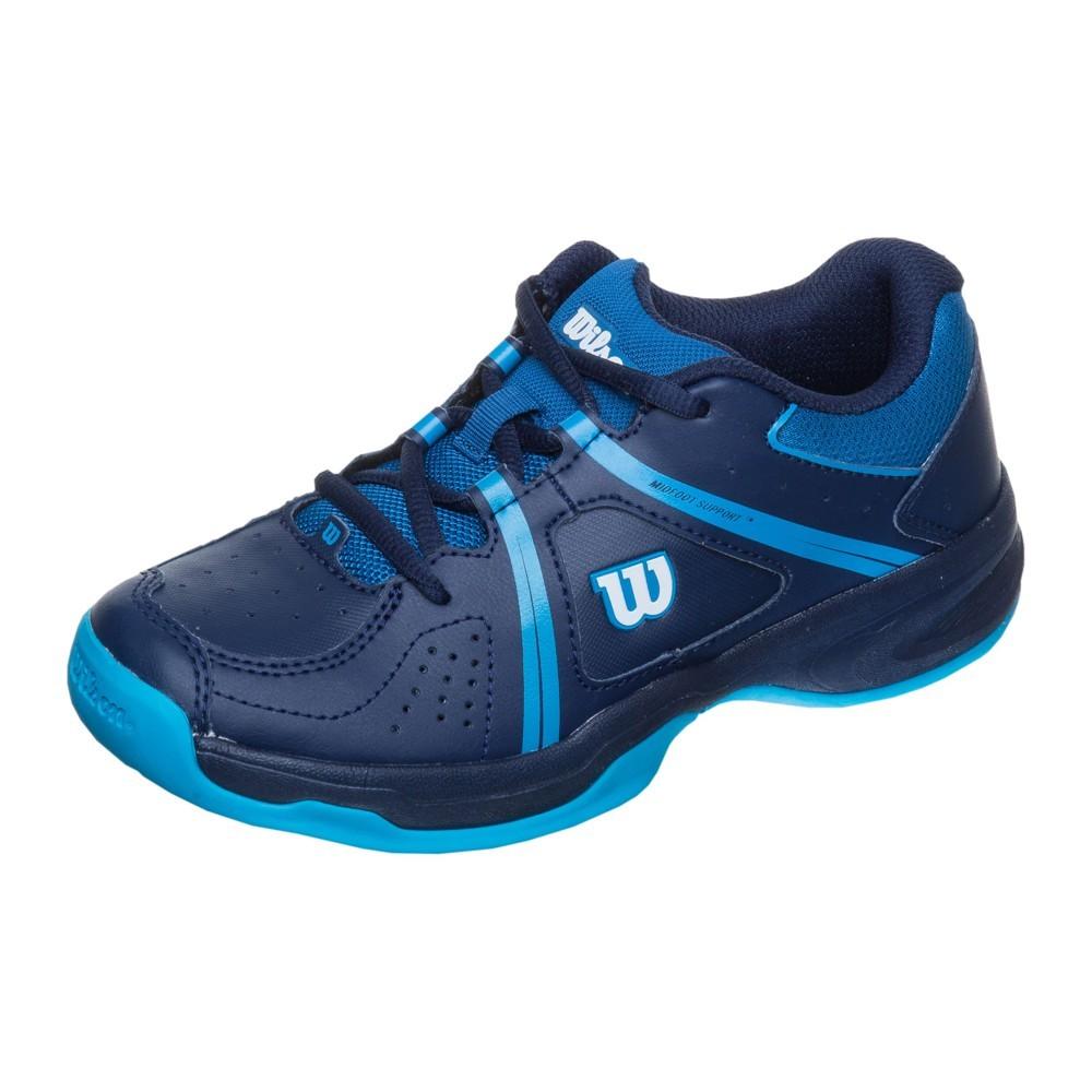Dětská tenisová obuv Wilson Envy navy blue/sblueUK 12,5 / EUR 31 1/3 / 20 cm
