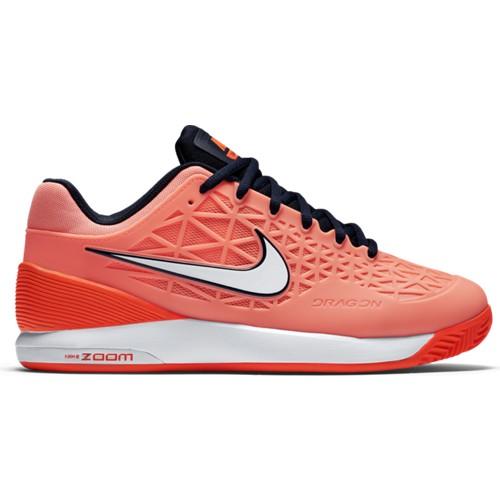 Dámská tenisová obuv Nike Zoom Cage 2 Clay ATMC PNK/OBSDN-TTL CRMSN-BRGHTUK 6 / EUR 40 / 25.5 cm