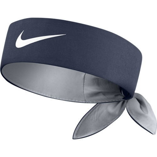 Čelenka Nike Tennis Headband MIDNIGHT NAVY/WOLF GREY/WHITE