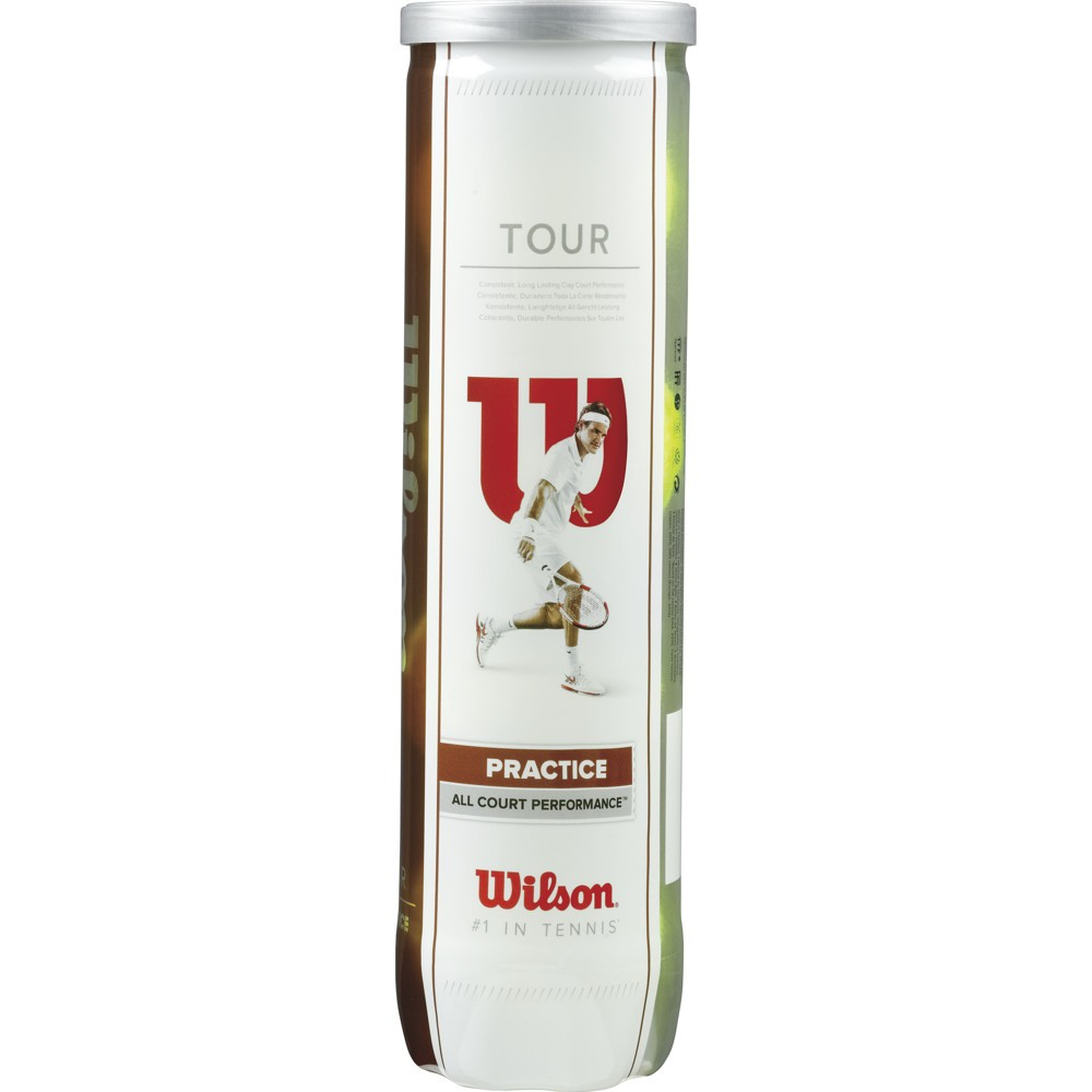 Tenisové míče Wilson Tour Practice / 4 kusy