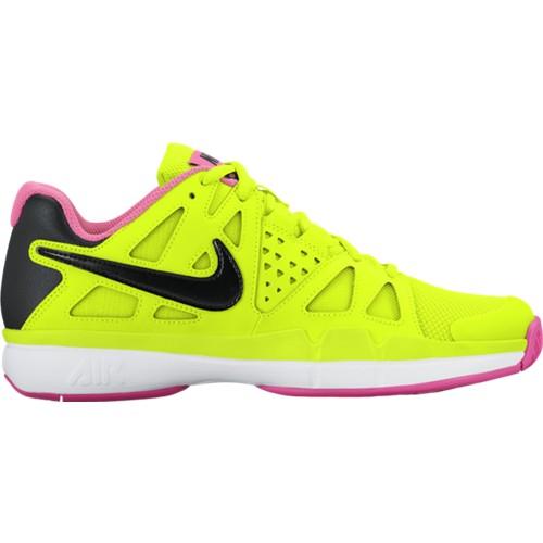 Dámská tenisová obuv NIKE Air Vapor Advantage VOLT/BLACK-PINK BLAST-WHITE UK 6 / EUR 40 / 25.5 cm