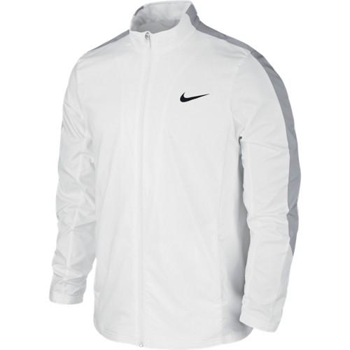 Pánská tenisová bunda Nike Court WHITE/WOLF GREY/WHITE/BLACK XS