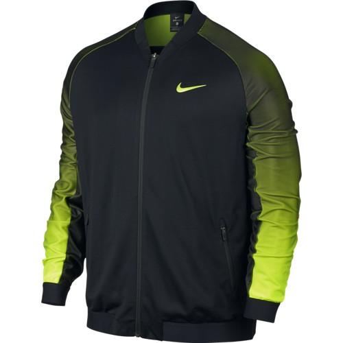 Pánská tenisová bunda Nike Premier BLACK/VOLT L