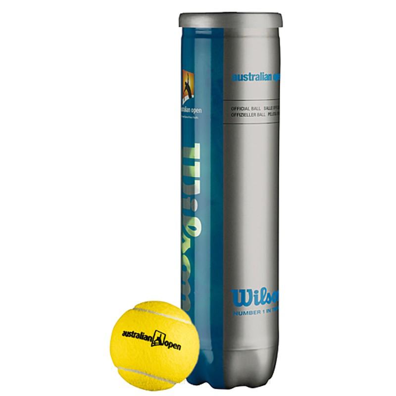Tenisové míče Wilson Australian Open 4 ks