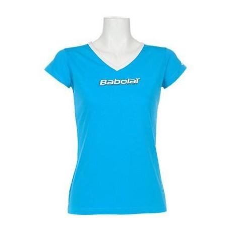 Dámské tenisové tričko Babolat Training blue