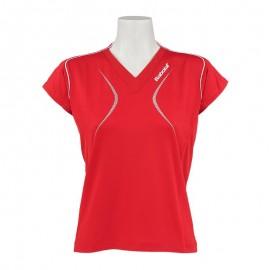 Dámské tenisové tričko Babolat Club Polo red