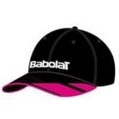 Kšiltovka Babolat Cap black/pink