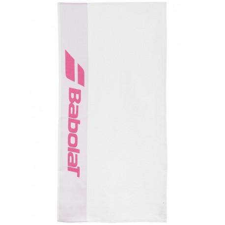 Ručník Babolat towel white/pink