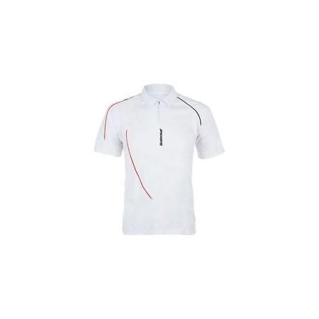 Pánské tenisové tričko Babolat Polo Club white