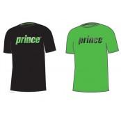 Dětské tenisové tričko Prince Promo zelené