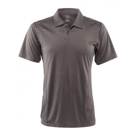 Pánské tenisové tričko Wilson Solana Embossed Polo Graphite