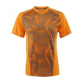 Pánske tenisové tričko Wilson Solana  Neon mango  new
