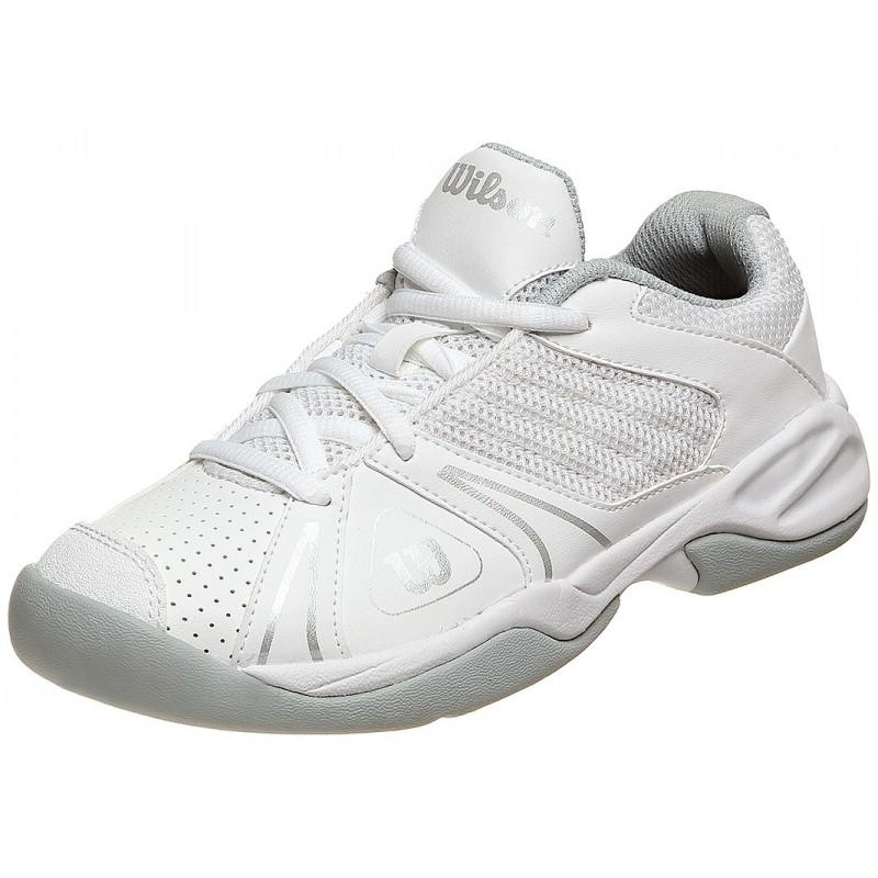 fe65712b48b Dětská tenisová obuv Wilson Open white - Tenissport Březno