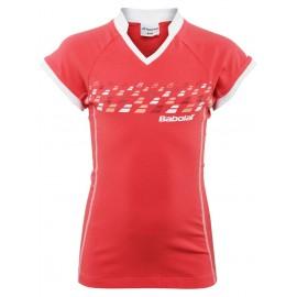 Dívčí tenisové tričko Babolat Essential coral